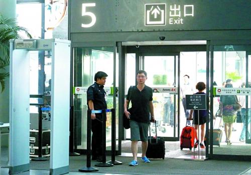 上海虹桥机场HI-PE启亚安检门检测级别提升[图]