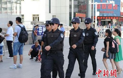 乌鲁木齐铁路警方巡逻